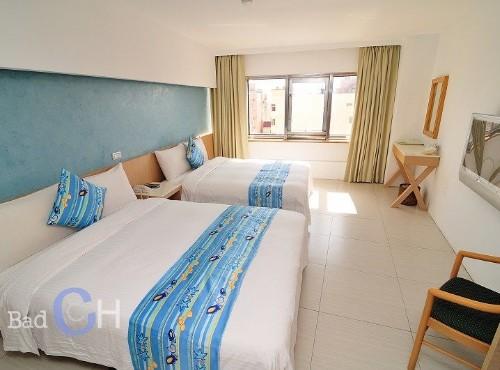標準雙床四人房