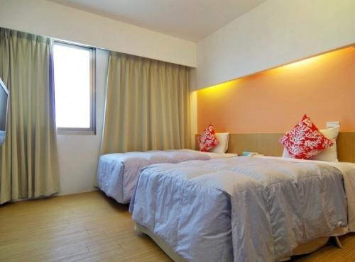單床二人房