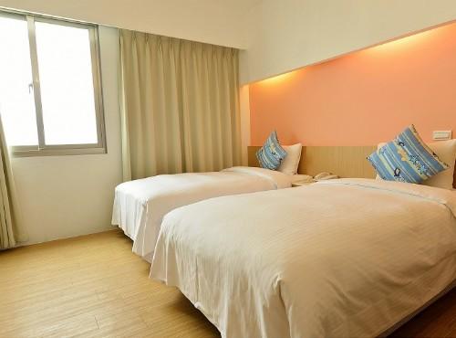 雙床二人房