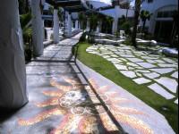 香格里拉冬山河渡假飯店-南歐柔波中庭花園