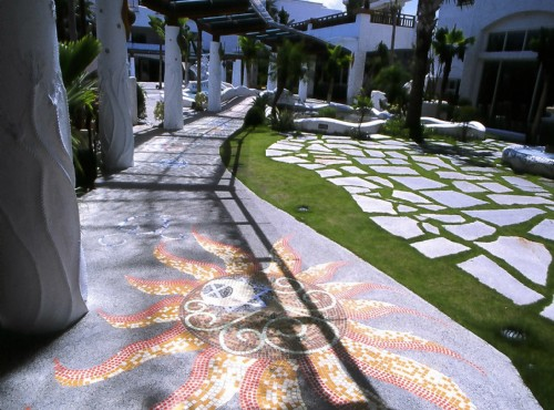 南歐柔波中庭花園