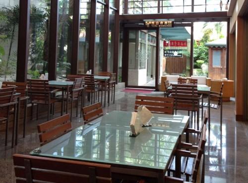 玻璃咖啡廳