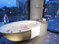 和風礁溪館-西式四人房浴室