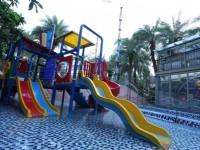 雪山溫泉會館-SPA兒童滑水道