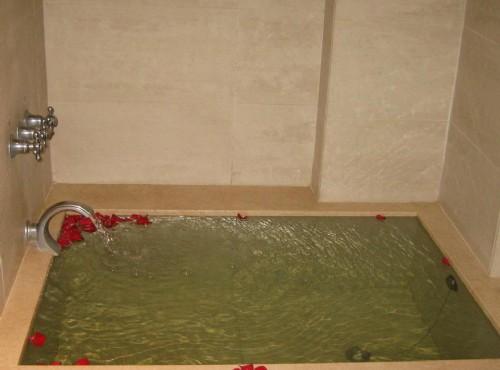金典雙人房浴池