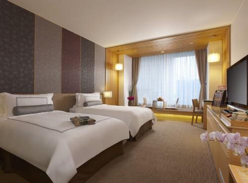 高級洋式客房_兩小床