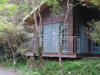 明池森林游乐区-明池山庄-青苔四人木屋房外覌