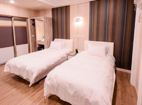 北歐雙床房