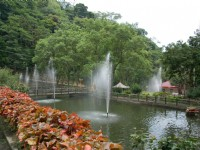 南庄春谷休閒農場-噴水池