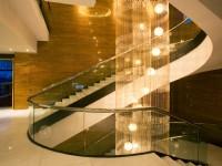 桃禧航空城酒店-大廳Lobby迴旋梯