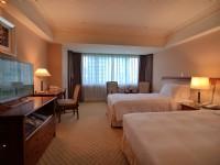 長榮桂冠酒店-台中-豪華客房雙床