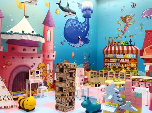 兒童遊戲室-海底笑笑屋