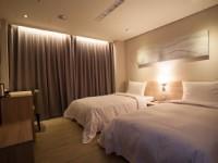 微笑73旅店-經濟雙床間