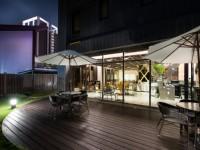 賀緹酒店-咖啡廳庭園