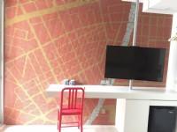 希堤微旅(Hotel Mapp)-逢甲店-夢想地圖雙人房