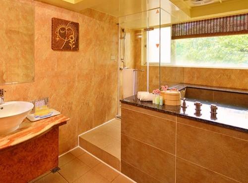 泉都套房浴室