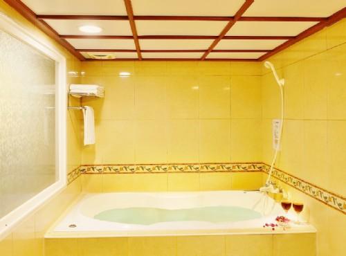 豪適雙人房浴室