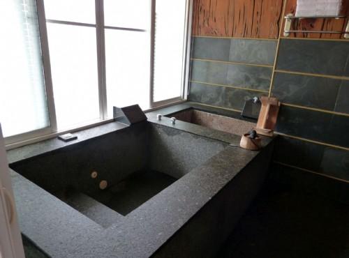 豪華檜木4人房-浴室