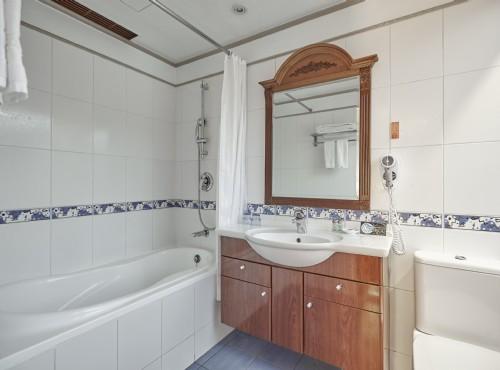 標準套房浴室