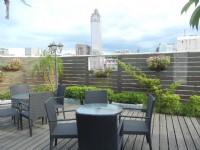福君海悅大飯店-空中花園戶外用餐區