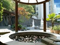 春天酒店-露天風呂-花瓣浴