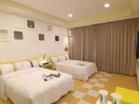 賓王時尚旅店-四人房型-樂活