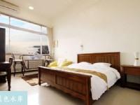 藍色水岸淡水海景旅店-海景貴賓2人房