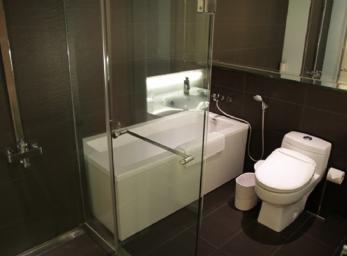 精緻客房一大床浴室