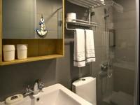 約克設計旅店-地中海景觀二人房-浴室