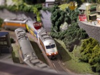 葛瑞絲商旅-小火車模型