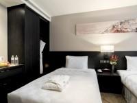 白金花園酒店-豪華客房雙床房
