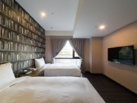 趣旅館-林森館-極致雙床房