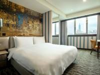 諾帝克商務國際飯店-豪華雙人房
