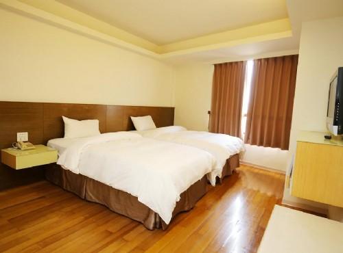 豪華雙人房-二小床