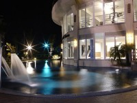 台南商務會館-室外設施夜景