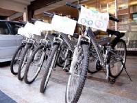 欣悅商務旅館-租借腳踏車
