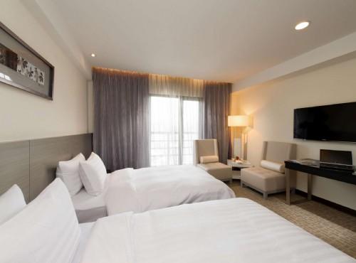 高級雙床房床組
