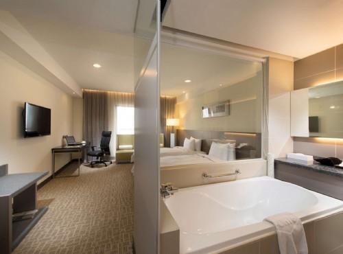 豪華雙床房衛浴