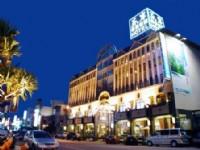 东岸精致商务旅馆-饭店外观夜景