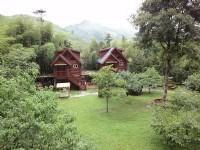 金台灣山莊-木屋景觀