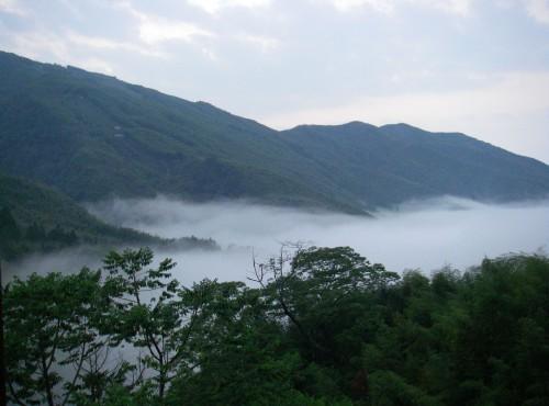 山莊可眺望雲海景觀