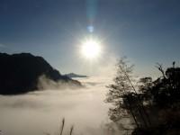 杉林溪森林生態渡假園區-向欣谷夕陽雲海