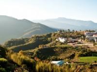 佳美休閒渡假山莊-自觀景廊道可見壯麗山景