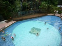溪頭米堤大飯店-室外遊泳池