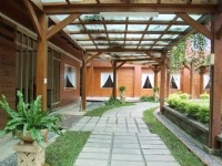 貴族水月渡假會館-餐廳外庭院
