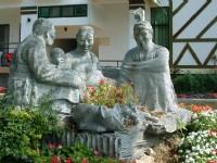 歐都納山野渡假村-石雕-野宴