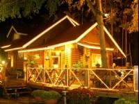 歐都納山野渡假村-園區夜景