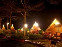 歐都納山野渡假村-木屋區夜景