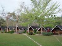 歐都納山野渡假村-木屋外觀
