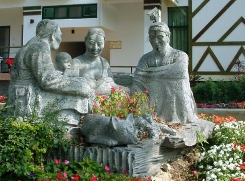 石雕-野宴